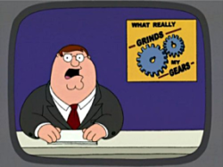 Peter Griffin - What Really Grinds my Gears?